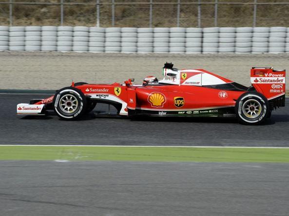 Raikkonen ha concluso i primi test per la Ferrari (Foto E.Colombo)